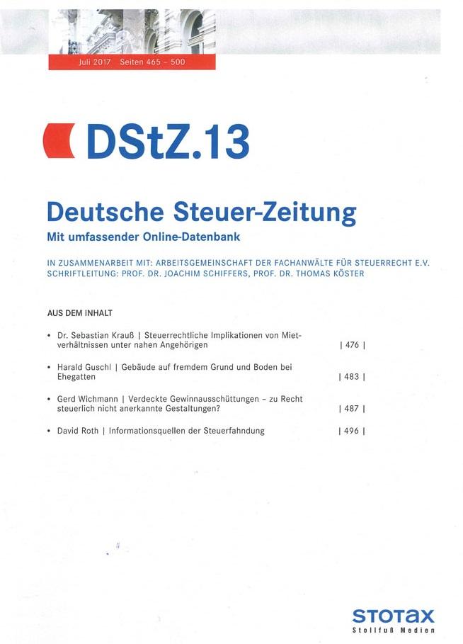 DStZ 13/2017