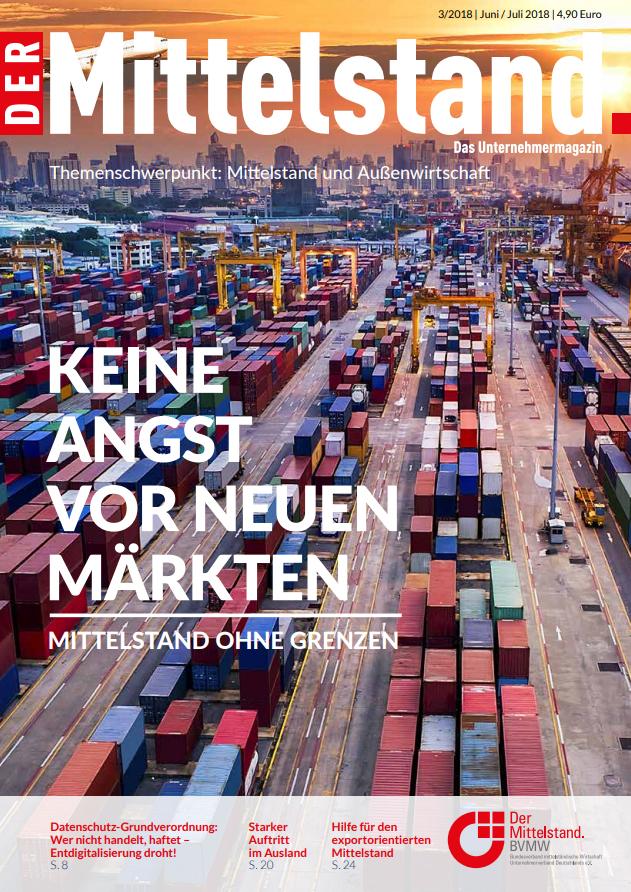 Der Mittelstand - Das Unternehmermagazin 3|2018