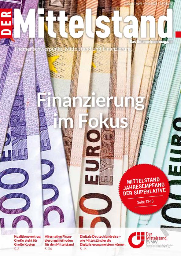 Der Mittelstand - Das Unternehmermagazin 2|2018